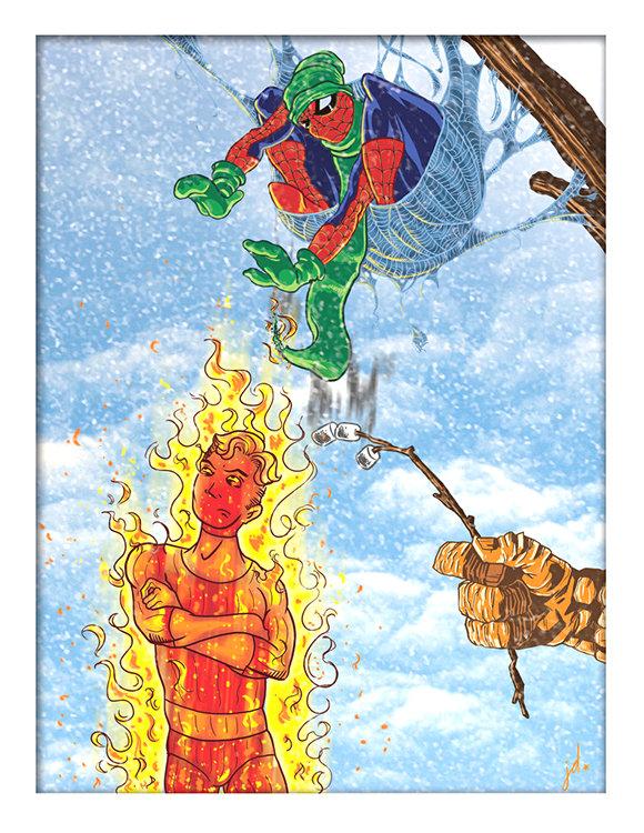 marvel-superhero-Christmas-Cards-1