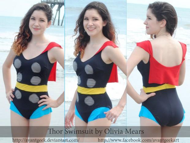 DIY Thor Swimsuit