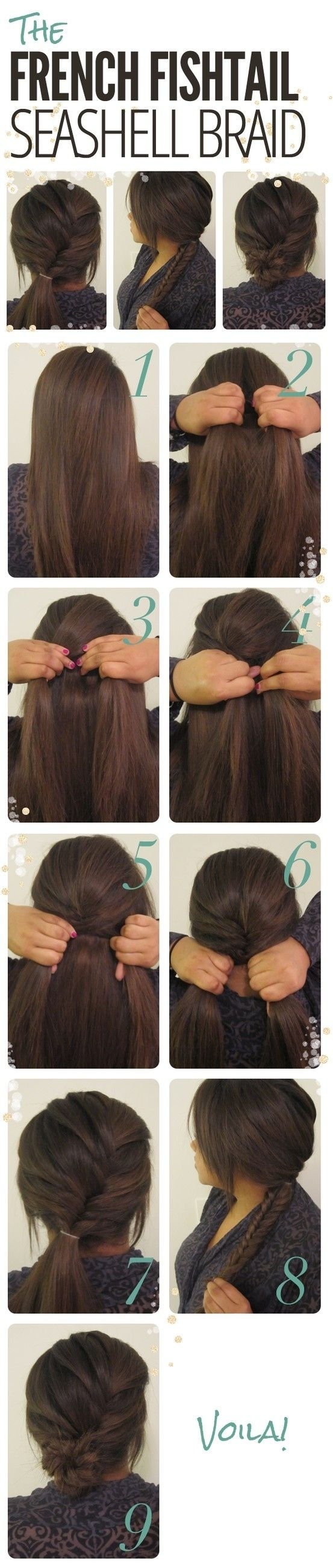 Hairstyles for Long Hair Step by Step-1