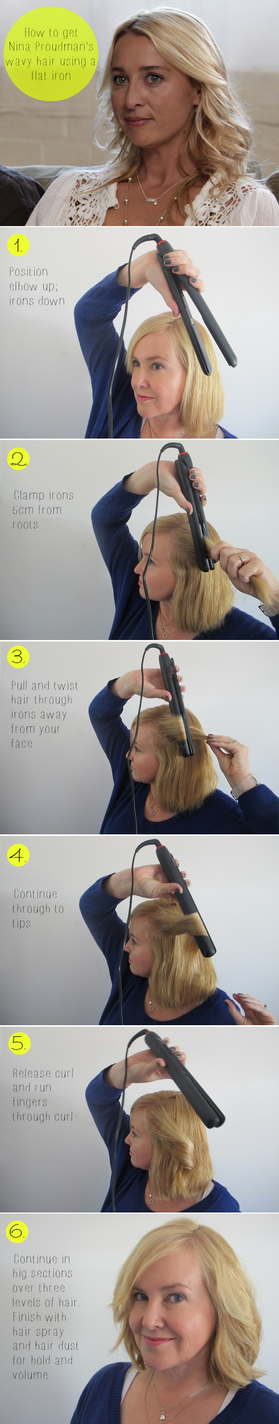Hairstyles for Long Hair Step by Step-11