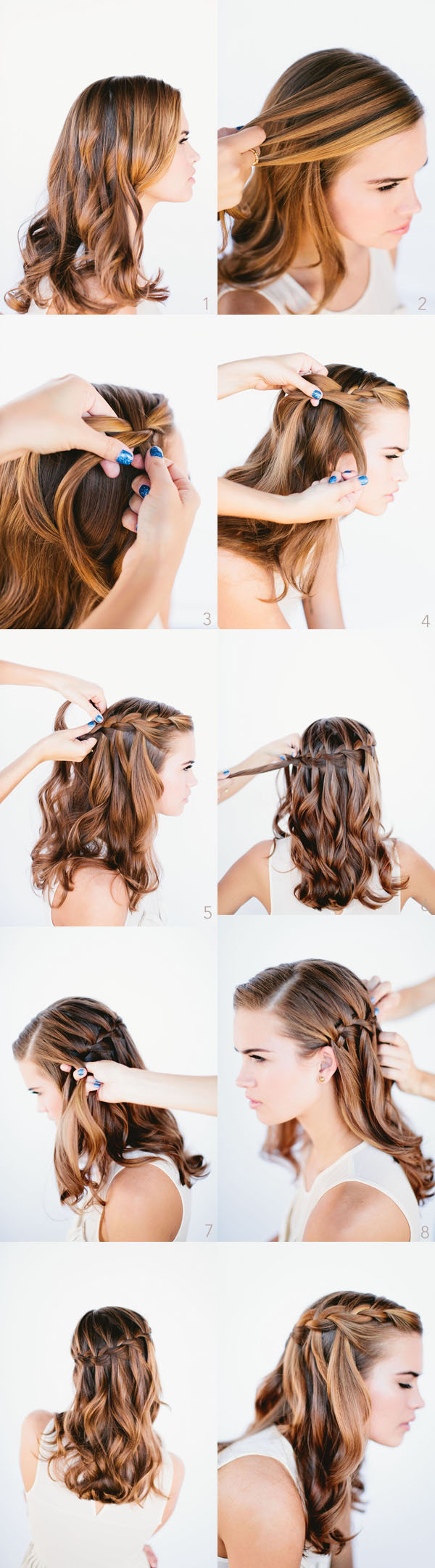 Hairstyles for Long Hair Step by Step-18