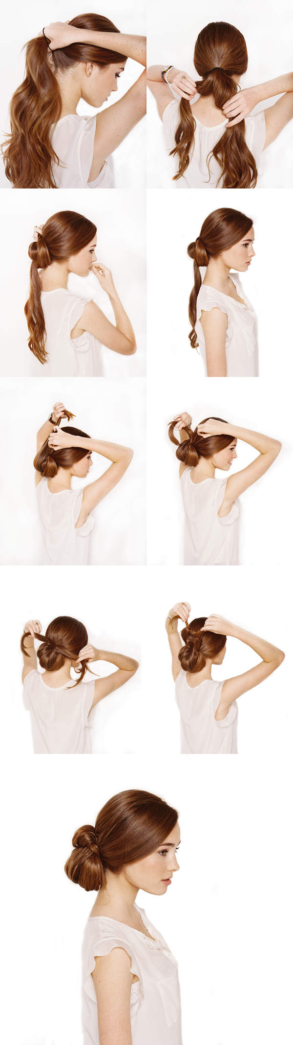 Hairstyles for Long Hair Step by Step-20