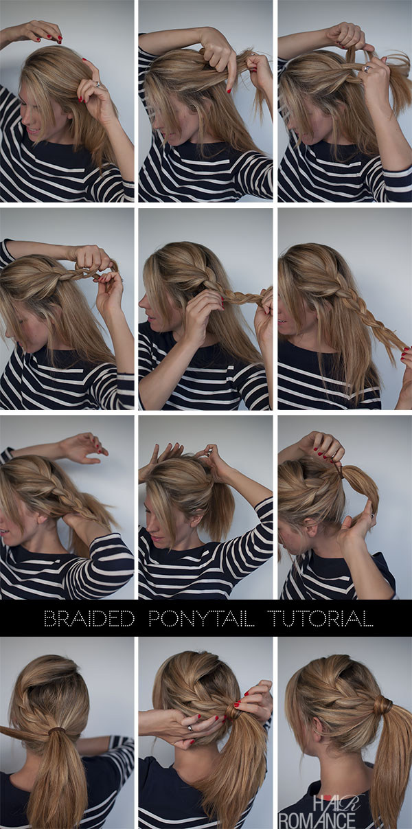 Hairstyles for Long Hair Step by Step-8