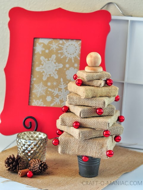 DIY+Burlap+canvas+stacked+tree61