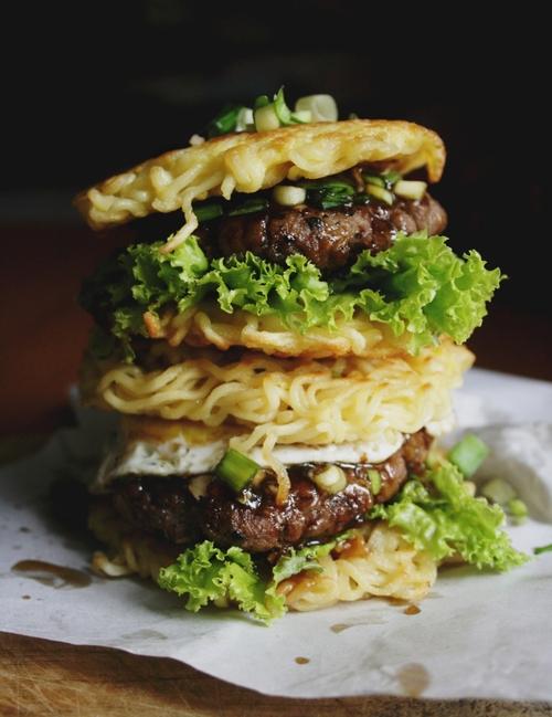Ramen Hamburger Recipe