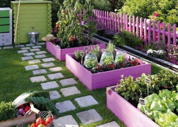 ideas pallets raised garden beds (16)
