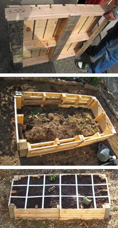 ideas pallets raised garden beds (2)