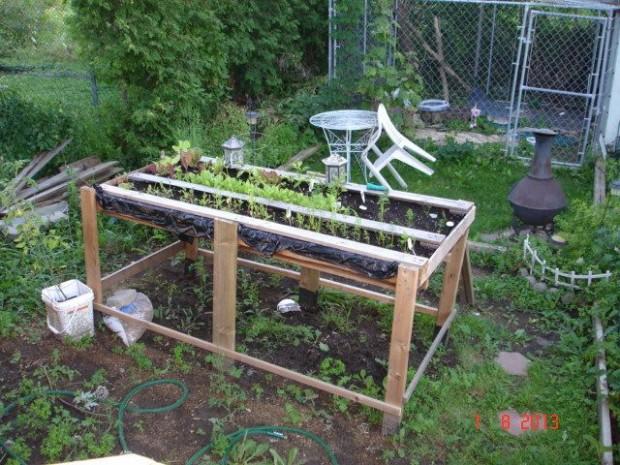 ideas pallets raised garden beds (20)