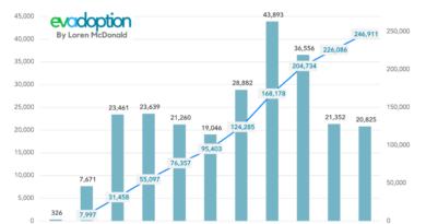 GMs Annual Cumulative US EV Sales 2010-202