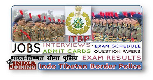 Indo Tibetan Border Police Selection Process