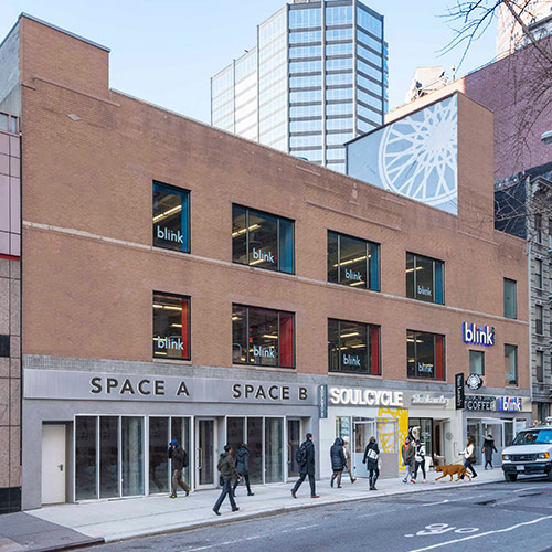 SoulCycle, Blink Fitness Land at JTRE's Midtown Retail Conversion