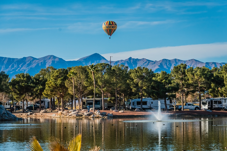 Golden Lakeside RV Resort Pahrump, NV