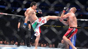 Machida front kick
