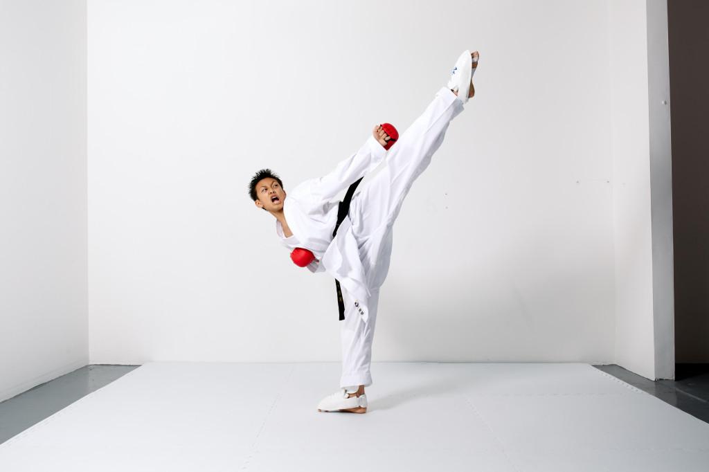 AWMA Sponsored Athlete Kieran Tamondong in our ProForce WKA Approved Gi