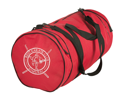 custom embroidery on martial arts gear bags