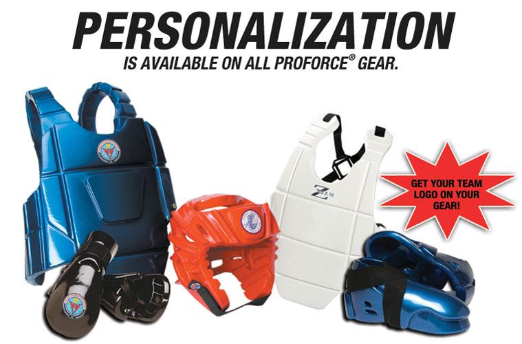 custom martial arts gear labels