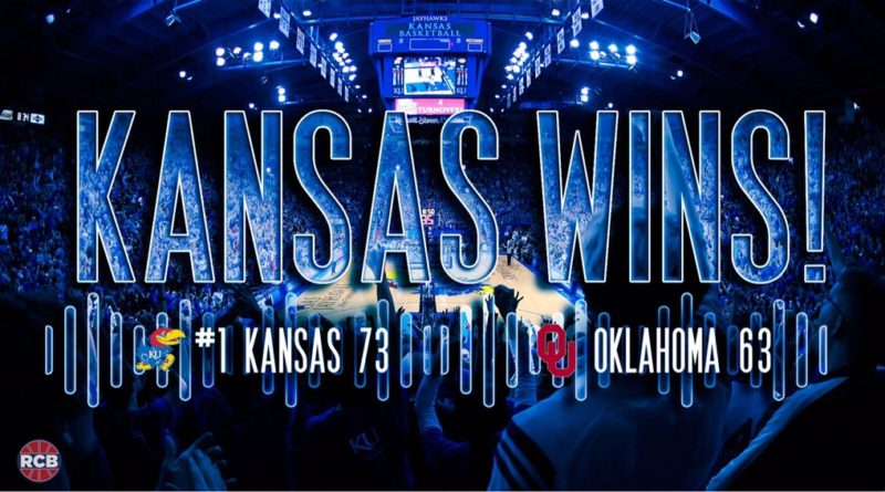 It's not how you start, but it's how you finish. That phrase couldn't have been any truer on Monday night for the No. 1 Kansas Jayhawks.