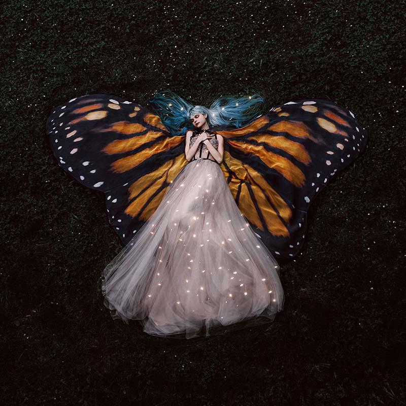 "Photograph by Jovana Rikalo. ""Butterfly"" [Digital Photography, Canon 5d mark IV, sigma 35 mm f 1.4 lens]"