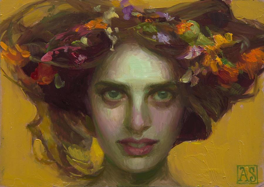 Adrienne Stein-enchantress-painting