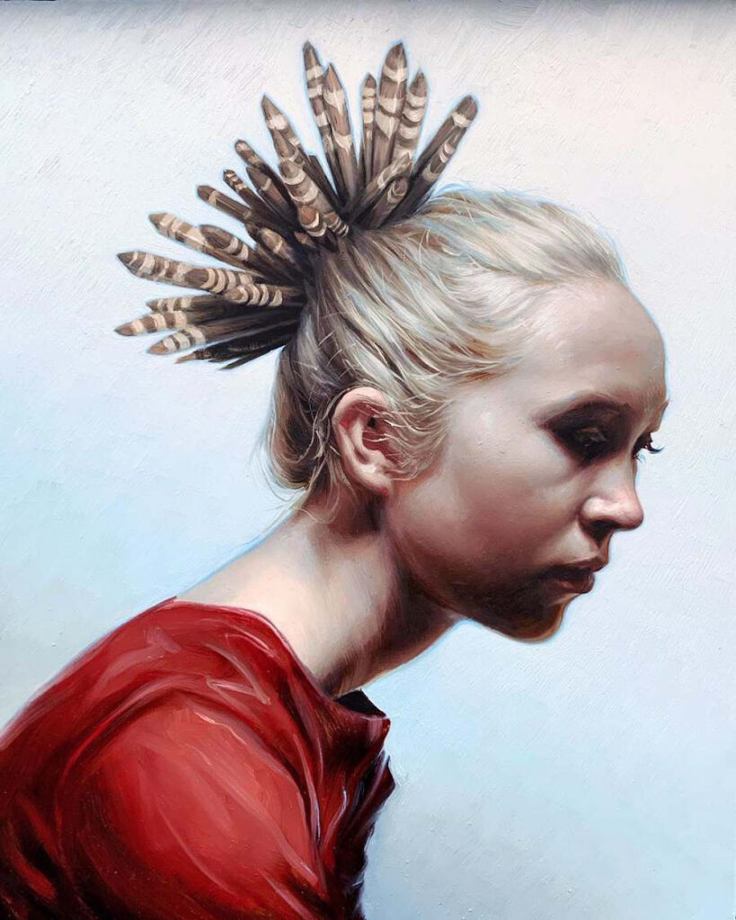 Victor Grasso - Pencil Urchin - INPRNT Traditional Art Prize 2019