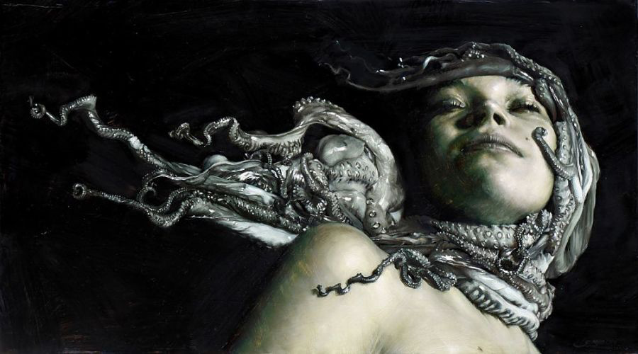 Victor Grasso - Sinking - INPRNT Traditional Art Prize 2019