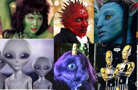 Alien colours