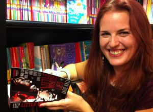 Katie Dale signing LWL photo