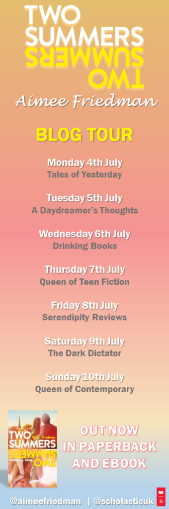 Two Summers Blog Tour Banner