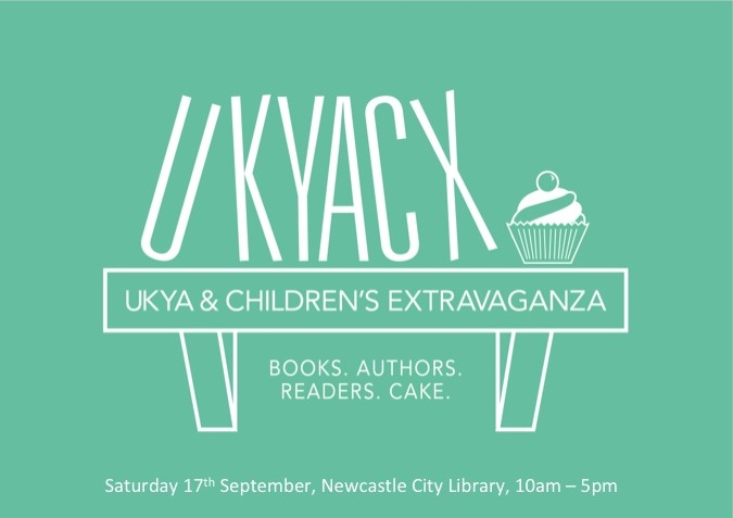 UKYACX Logo with Newcastle Details