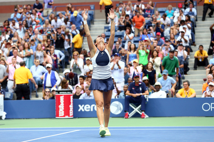 Flavia Pennetta Women's Singles Winning Moment