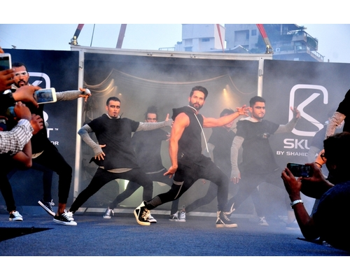 Shahid Kapoor launching SKULT