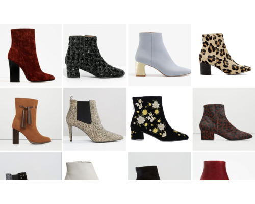 Types of Ankle Boots