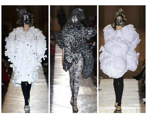 Rei Kawakob designs Paris Fashion Week