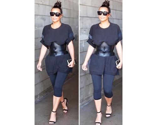 Kim Kardashian TIny Waist