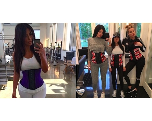 Kardashians Tiny Waist movement
