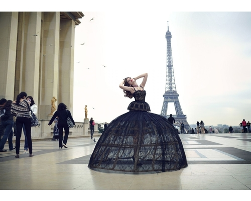 Indian Fashion Show at Eiffel Tower