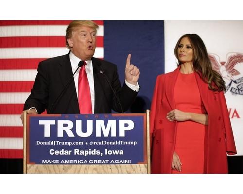 President Trump in Fashion
