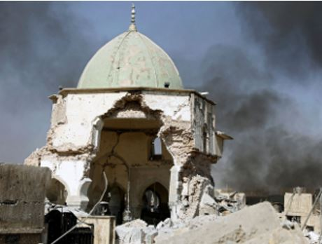 ISIS Caliphate End - Nuri Mosque Iraq