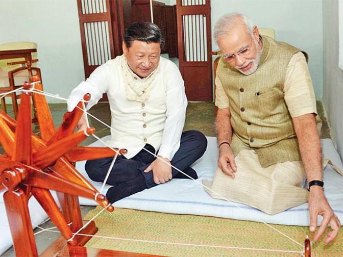 Modi Xi Jinping