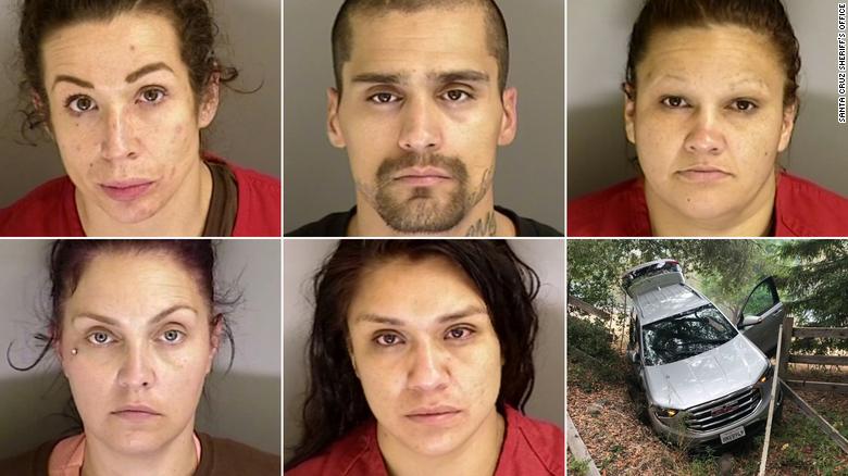 California Santa Cruz Robbery