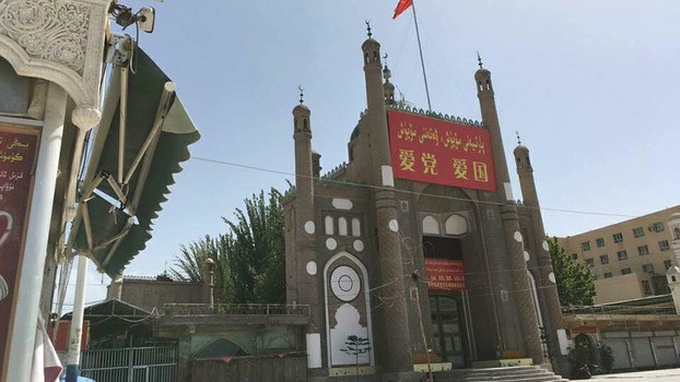 China builds public toilet in place of mosque