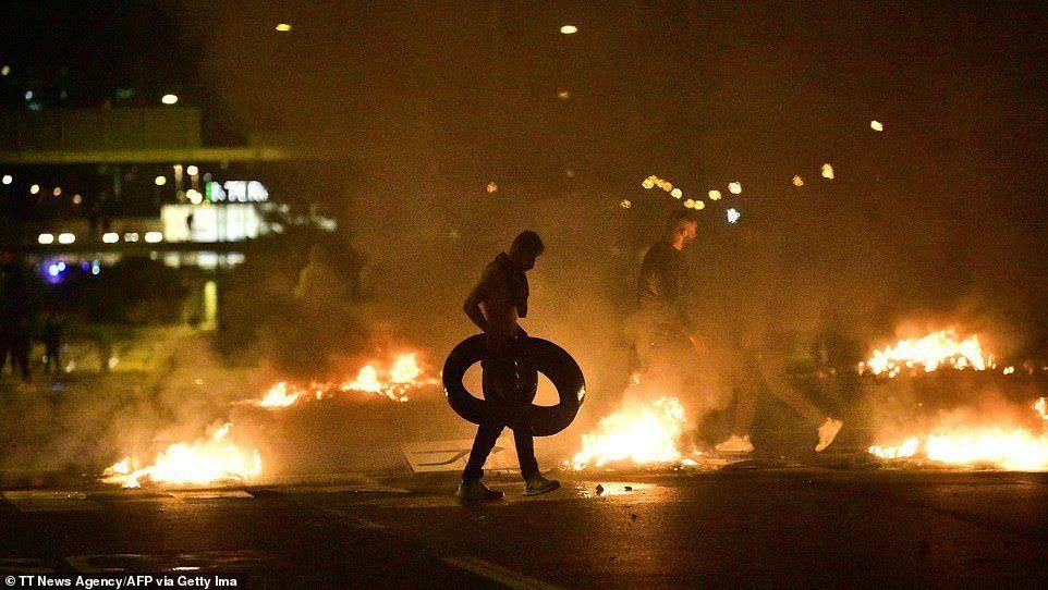 Sweden Riots photos