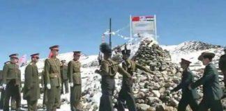 India China LAC Clash