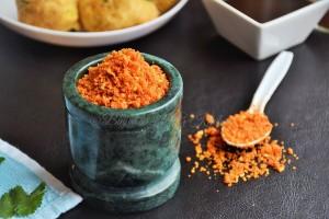 Dry Garlic Chutney (Lasoon Chutney)
