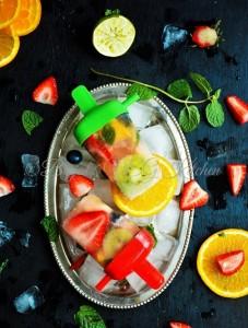 Mix Fruit Popsicles