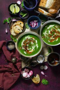 Palak Shorba (Spinach Soup)