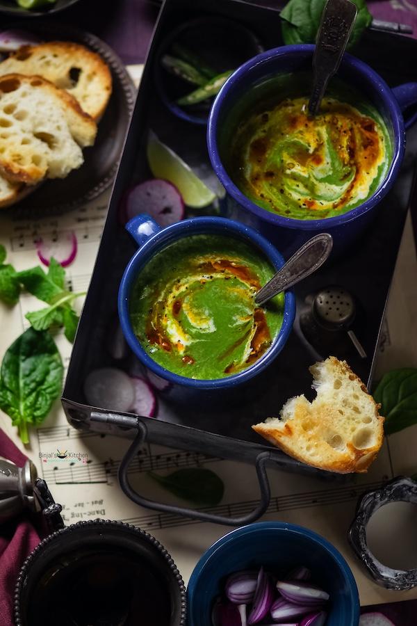 Palak Shorba Spinach Soup