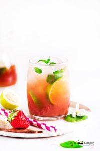 Guava Iced Tea