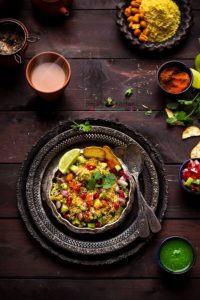 Sprouted Moong Bhel Recipe