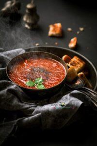 Vegan Tomato Basil Soup Recipe